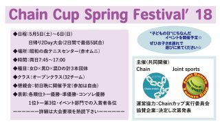 Chain Cup Spring Festival'18