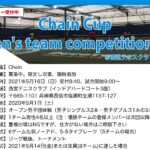 【結果】Chain Cup Men's team competition①@兵庫