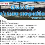 【受付中】Chain Cup Men's team competition②@兵庫